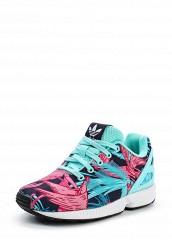 Купить Кроссовки ZX FLUX C adidas Originals мультиколор AD093AGUNJ36 Индонезия
