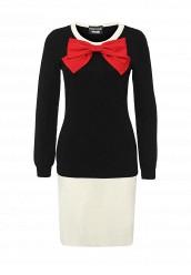 Купить Платье Boutique Moschino мультиколор BO036EWJKV71 Италия
