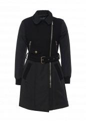 Купить Пальто Boutique Moschino черный BO036EWJKW24