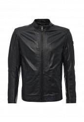 Купить Куртка кожаная Boss Orange черный BO456EMTQE49