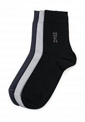 Купить Комплект носков 3 пары Брестские серый, черный BR034FMQAG44 Беларусь