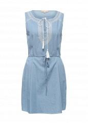 Купить Платье джинсовое By Swan голубой BY004EWRPM73 Китай