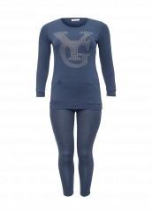Купить Костюм спортивный Donmiao синий DO016EWNPB46