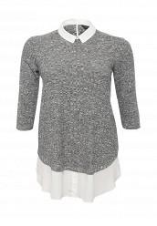 Купить Блуза Dorothy Perkins Curve серый DO029EWPCI28