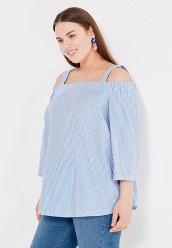 Купить Блуза Dorothy Perkins Curve голубой DO029EWTOB59