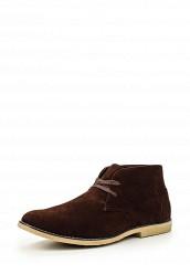 Купить Ботинки BROWN MICROSUEDE ANKLE BOOT Five Basics коричневый FI015AMMMU42