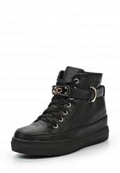 Купить Кеды на танкетке Ideal Shoes черный ID005AWFXV85 Китай