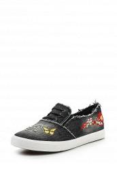 Купить Кеды Ideal Shoes черный ID005AWSBE49 Китай