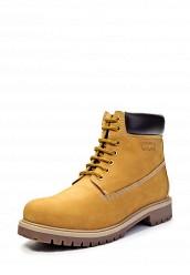 Мужские Желтые Ботинки