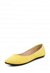 Купить Балетки LOST INK KI KI TEXTURED BALLERINA желтый LO019AWPRV42 Китай