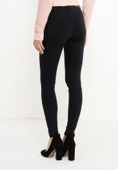 Джинсы LOST INKMID RISE SKINNY IN WASHED BLACK
