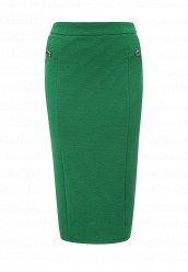 Купить Юбка TEXTURED PENCIL SKIRT LOST INK зеленый LO019EWQLE56 Китай