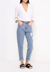 Джинсы LOST INKMOM JEAN IN BLOSSOM WASH WITH RIPS