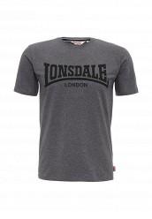 Купить Футболка Lonsdale серый LO789EMUIC59