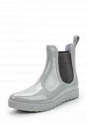 Купить Резиновые полусапоги серый MO151AWWBH14 Китай