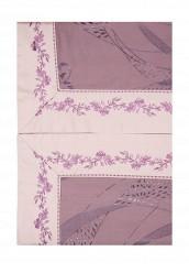 Купить Комплект постельного белья Евро Asabella фиолетовый MP002XU0017G