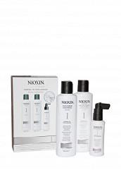 Купить Набор Система 1 для тонких натуральных волос склонных к выпадению 350 мл Nioxin белый MP002XW0DR3M