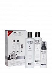 Купить Набор Система 2 для заметно редеющих тонких натуральных волос 700 мл Nioxin белый MP002XW0DR3Z