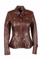 Купить Куртка кожаная Grafinia коричневый MP002XW0FO6K
