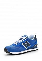 Купить Кроссовки ML574 New Balance синий NE007AMATU18