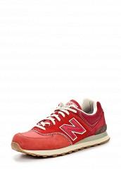 Купить Кроссовки ML574 New Balance красный NE007AMATU24