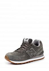 Купить Кроссовки ML574 New Balance серый NE007AMJA763