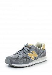 Купить Кроссовки ML574 New Balance серый NE007AMPDJ81