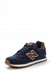 Купить Кроссовки ML574 New Balance синий NE007AMPEH26