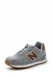 Купить Кроссовки ML574 New Balance серый NE007AMPEH28
