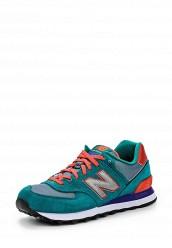 Купить Кроссовки New Balance WL574 бирюзовый NE007AWHIH13 Индонезия