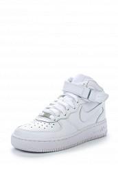 Купить Кроссовки AIR FORCE 1 MID (GS) Nike белый NI464ABFOT54