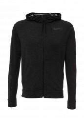 Купить Худи DRI-FIT TRAINING FLEECE FZ HDY Nike серый NI464EMHBG01