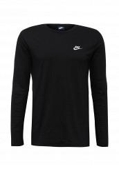 Купить Лонгслив M NSW TOP LS JSY CLUB Nike черный NI464EMJFP39