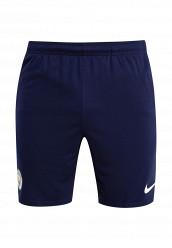 Купить Шорты спортивные MCFC M NK DRY SQD SHORT KZ Nike синий NI464EMRZA31