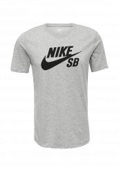 Купить Футболка спортивная SB LOGO TEE Nike серый NI464EMUGS45