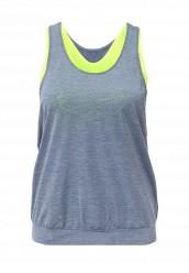 Купить Майка спортивная W TANK PRO INSIDE Nike синий NI464EWJGA58