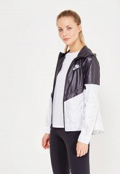 Купить Ветровка W NSW WR JKT Nike черно-белый NI464EWJGA71