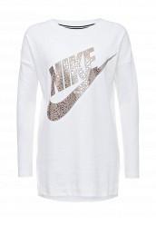 Купить Лонгслив W NSW TOP LS GX Nike белый NI464EWJGB06