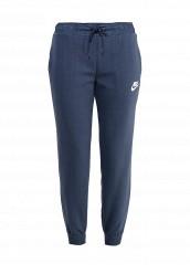 Купить Брюки спортивные Nike W NSW AV15 PANT FLC синий NI464EWPKS10 Малайзия