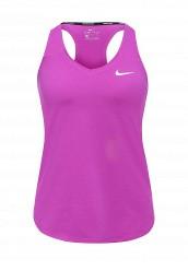 Купить Майка спортивная W NKCT TANK PURE Nike фиолетовый NI464EWRZC54