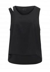 Купить Майка спортивная W NK FLX TANK LOOSE WOVEN Nike черный NI464EWRZE89