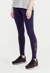 Купить Леггинсы W NSW LEG A SEE LGGNG LOGO Nike синий NI464EWUGU14