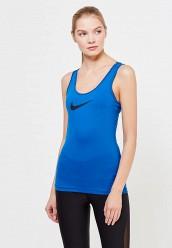 Купить Майка спортивная W NK TANK VCTY BL Nike синий NI464EWUHG18