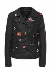 Купить Куртка кожаная Only черный ON380EWODR10 Китай