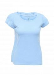 Купить Комплект футболок 2 шт. oodji голубой OO001EWNUD53 Узбекистан