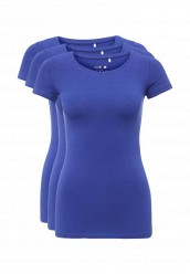 Купить Комплект футболок 3 шт. oodji синий OO001EWNWB02