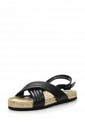 Купить Сандалии Pieces черный PI752AWIES97 Италия