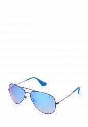 Купить Очки солнцезащитные Ray-Ban® RB3558 9016B7 синий RA014DUOSY86 Италия