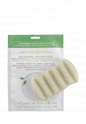 Купить Спонж The Konjac Sponge Co для мытья тела 6 Wave Body Konjac Sponge Green Clay TH015LWKHO34 Корея, Республика