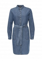 Купить Платье джинсовое Tommy Hilfiger Denim синий TO013EWOCN83
